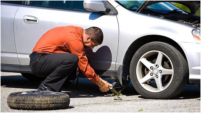 Hướng dẫn thay bánh xe ô tô dự phòng nhanh và những điều cần lưu ý 1